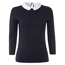 Buy White Stuff Doris Jumper, French Navy Online at johnlewis.com