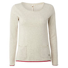 Buy White Stuff Plain Talking Jumper, Enamel Online at johnlewis.com