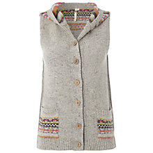 Buy White Stuff Fair Isle Gilet, Grey Online at johnlewis.com