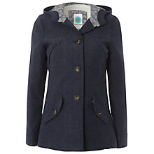 Buy White Stuff Short Moleskin Coat, French Navy Online at johnlewis.com
