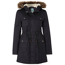 Buy White Stuff Park Life Parka, London Blue Online at johnlewis.com