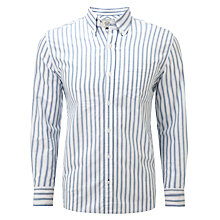 Buy John Lewis Mirror Stripe Long Sleeved Oxford Shirt Online at johnlewis.com
