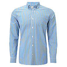 Buy John Lewis Long Sleeved Gingham Oxford Shirt Online at johnlewis.com