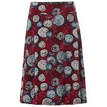 Buy White Stuff Woodland Reversible Skirt, Cranberry Online at johnlewis.com