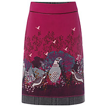 Buy White Stuff Grey Grouse Skirt, Cranberry Online at johnlewis.com