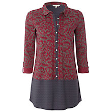 Buy White Stuff House Of Heritage Shirt, Red/Blue Online at johnlewis.com
