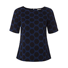 Buy White Stuff Spot On Top, French Navy Online at johnlewis.com
