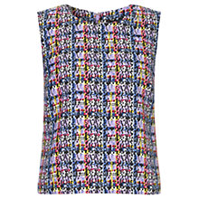 Buy Warehouse Printed Check Top, Multi Online at johnlewis.com
