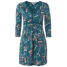 Buy White Stuff Conker Kaftan Dress, Privet Green Online at johnlewis.com