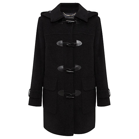 Buy Four Seasons Plain Duffle Coat, Anthracite Online at johnlewis.com