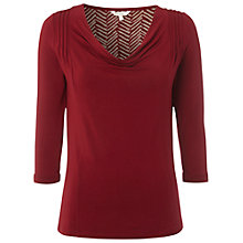 Buy White Stuff Plain Busy Lizzy Top, Red Online at johnlewis.com