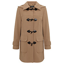 Buy Four Seasons Plain Duffle Coat, Caramel Online at johnlewis.com