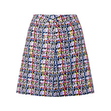 Buy Warehouse Printed Check Skirt, Multi Online at johnlewis.com