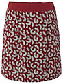White Stuff Pencil Shaving Skirt, Red/White