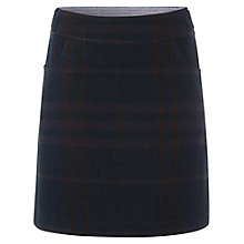 Buy White Stuff Check It Out Skirt, Green Eel Online at johnlewis.com