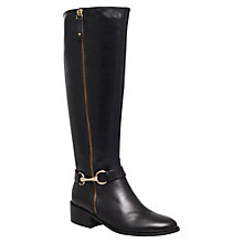 Buy Carvela Waffle Leather Horsebit Trim Knee Boots Online at johnlewis.com