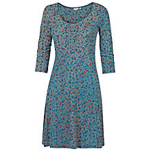 Buy Fat Face Portland Autumn Leaf Dress, Peacock Online at johnlewis.com