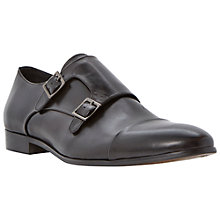 Buy Dune Reynold Toecap Monk Leather Shoes Online at johnlewis.com