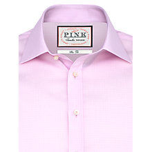 Buy Thomas Pink Padfield Check Shirt, Pink/White Online at johnlewis.com