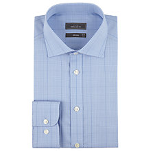 Buy John Lewis Graphic Check Shirt, Blue Online at johnlewis.com