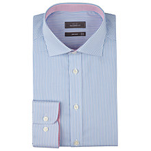 Buy John Lewis Fine Stripe Tailored Shirt Online at johnlewis.com