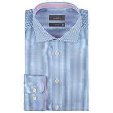 Buy John Lewis Mini Gingham Check Tailored Shirt Online at johnlewis.com
