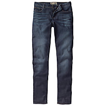 Buy Fat Face Contour Slim Jeans, Smoky Ink Online at johnlewis.com