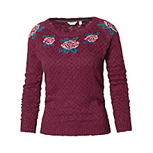 Buy Fat Face Faye Floral Jumper Online at johnlewis.com