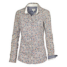Buy Fat Face Autumn Leaf Shirt, Ivory Online at johnlewis.com