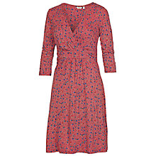 Buy Fat Face Conne Leaf Dress, Pomegranate Online at johnlewis.com