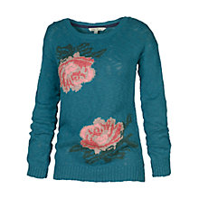 Buy Fat Face Floral Slub Jumper Online at johnlewis.com