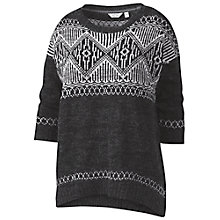 Buy Fat Face Fairisle Hem Jumper Online at johnlewis.com