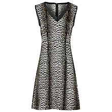 Buy Reiss Stella Leopard Print Silk Dress, Betty Leopard Online at johnlewis.com