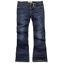 Buy Fat Face Flare Jeans, Smoky Ink Online at johnlewis.com