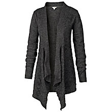 Buy Fat Face Balmore Waterfall Cardigan, Phantom Online at johnlewis.com