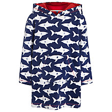Buy John Lewis Boy Shark Towel Poncho Online at johnlewis.com