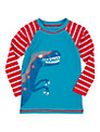 Hatley Boys' Dinosaur Print Rash Vest, Blue/Red