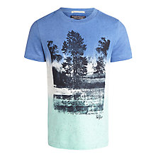Buy Tommy Hilfiger Boys' Forest T-Shirt, Blue/Green Online at johnlewis.com