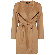Buy Jaeger Drop Shoulder Coat, Camel Online at johnlewis.com