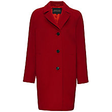 Buy Jaeger Wool Three Button Coat Online at johnlewis.com