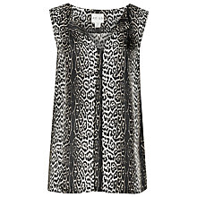 Buy Reiss Stina Animal Print Top, Betty Leopard Online at johnlewis.com