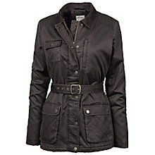 Buy Fat Face Keswick Utility Jacket, Chocolate Online at johnlewis.com