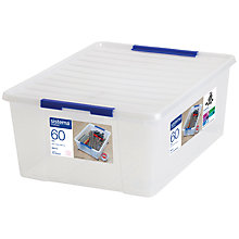 Buy Sistema Storage Box with Lid, 60L Online at johnlewis.com