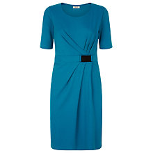 Buy Precis Petite Jersey Dress, Teal Online at johnlewis.com