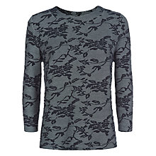 Buy Kaliko Lace Sweatshirt, Multi Navy Online at johnlewis.com