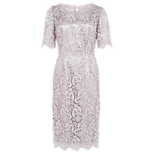 Buy Jacques Vert Luxury Lace Shift Dress, Opal Online at johnlewis.com