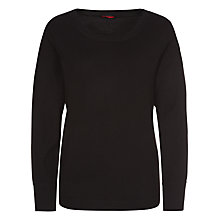 Buy Planet Wool Jumper, Black Online at johnlewis.com
