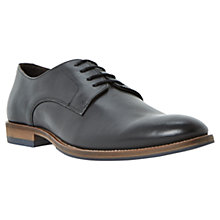 Buy Dune Brummie Gibson Shoes, Black Online at johnlewis.com