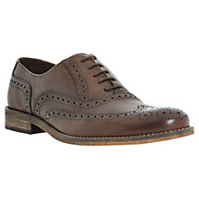 Buy Dune Braker Brogue Leather Shoes Online at johnlewis.com