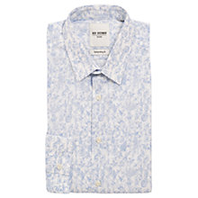 Buy Ben Sherman Floral Print Shirt, Cashmere Blue Online at johnlewis.com